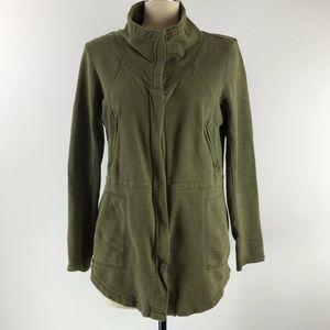 Prana Breathe Full Zip Organic Cotton Jacket Sz. M